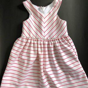 Striped toddler sundress